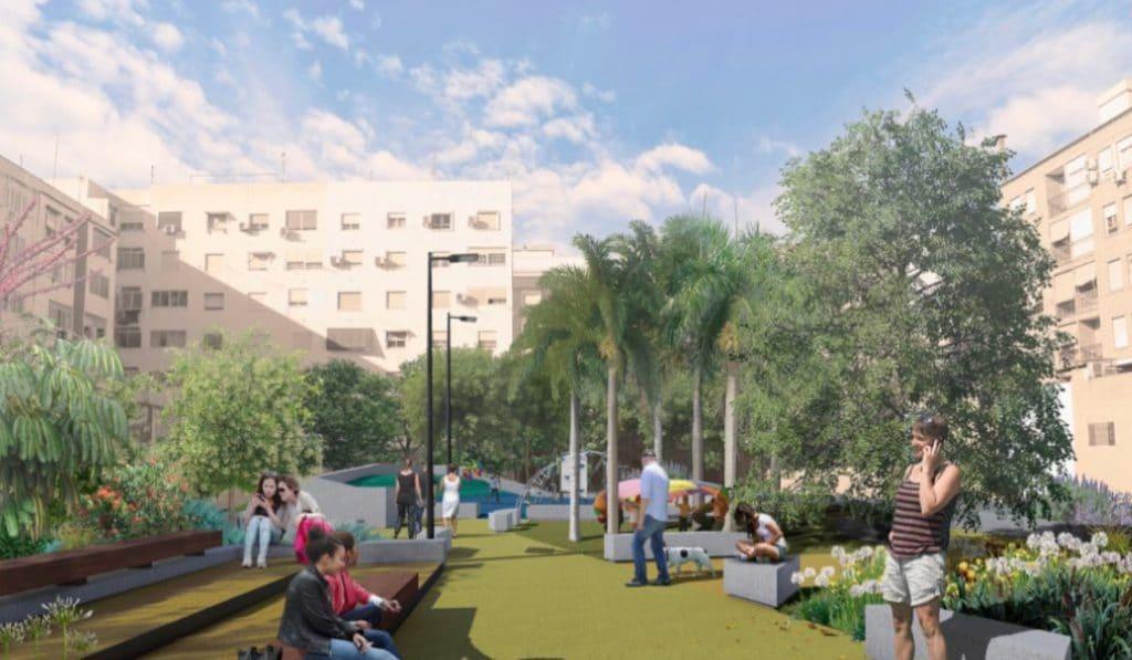 Así será el nuevo jardín de Benicalap