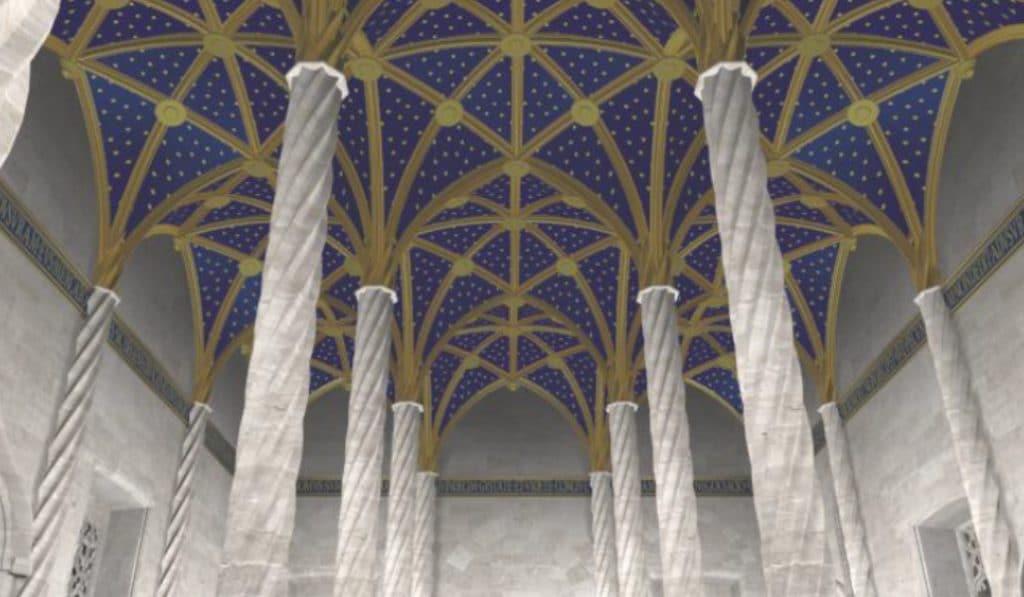 Así de impresionante era la Lonja de Valencia en 1516