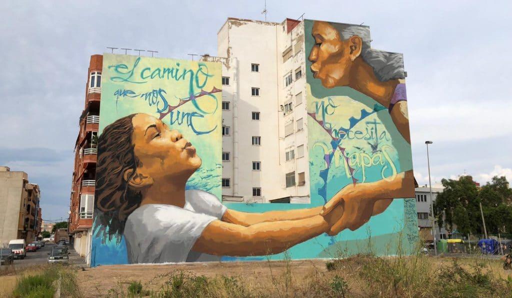 Mésquemurs: espectacular arte urbano en Sagunto
