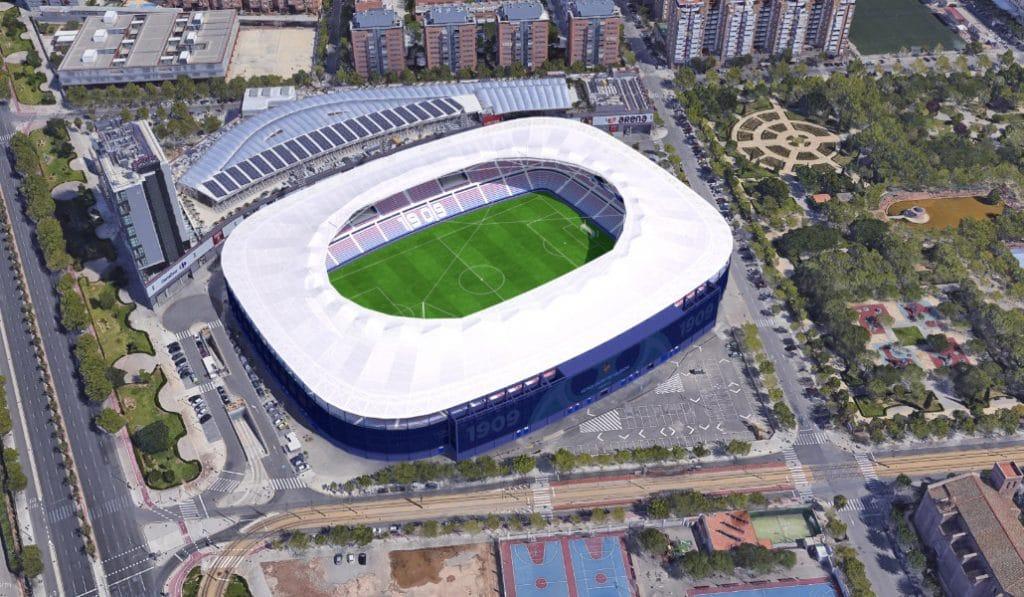 Así va a quedar el 'nuevo' estadio del Levante U.D.