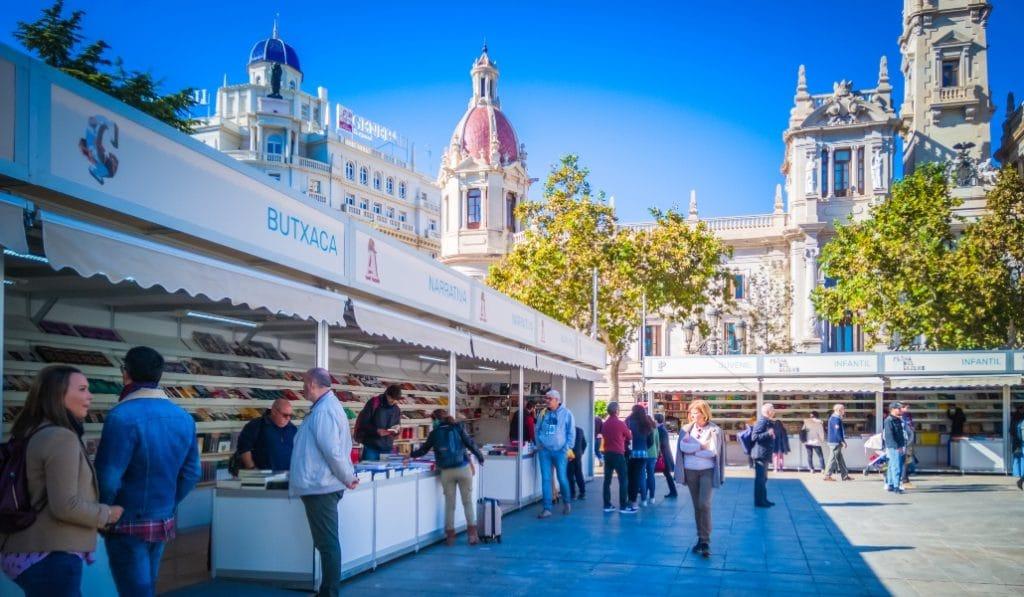 La 55 edición de la Feria del libro de Valencia se cancela definitivamente
