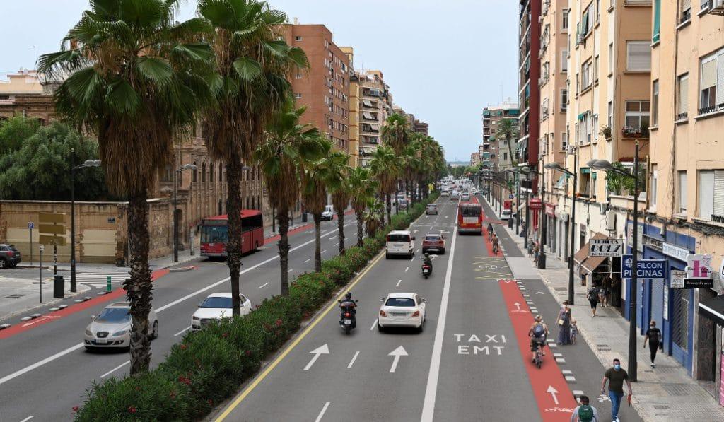 Así será la nueva avenida Pérez Galdós de Valencia