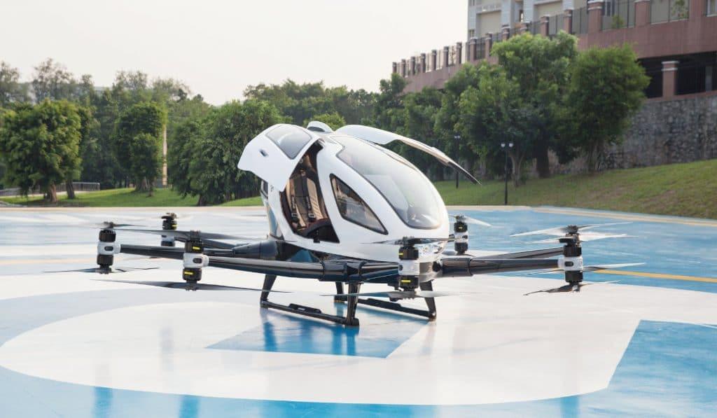 Este «taxi volador» se probará en Llíria