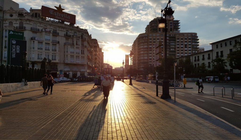 Valencia se encuentra en el podio del ranking de las ciudades más peatonalizadas de España