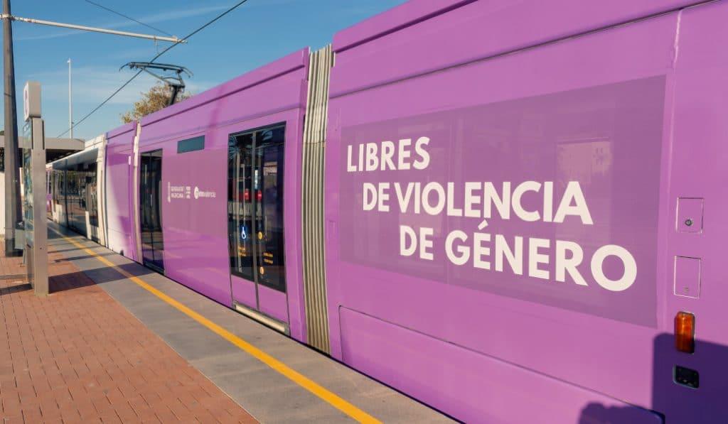 El transporte público valenciano será gratis para las victimas de violencia de género