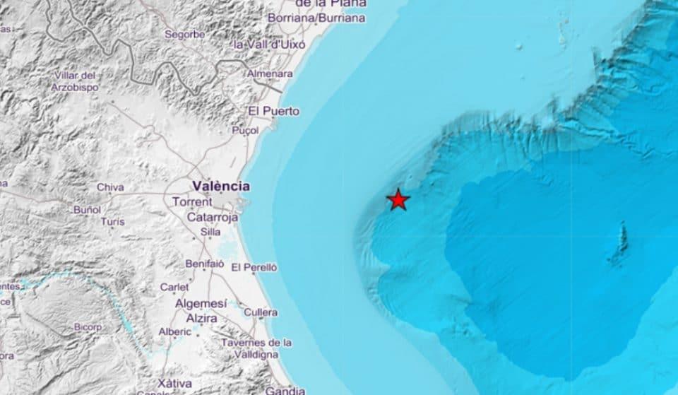 Se registran 22 terremotos en Valencia a lo largo de esta madrugada