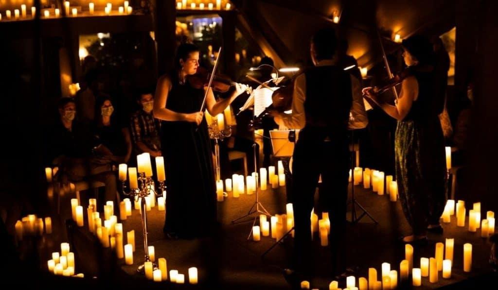 Candlelight en Teatro La PlaZeta: música clásica a la luz de las velas