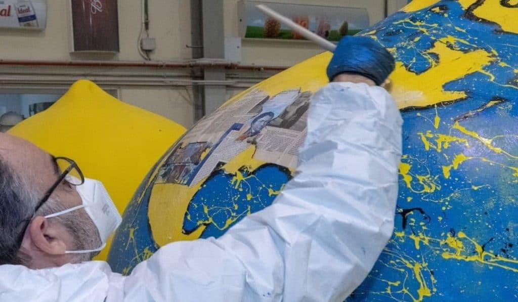 ¿Por qué hay limones gigantes en la Plaza del Ayuntamiento?