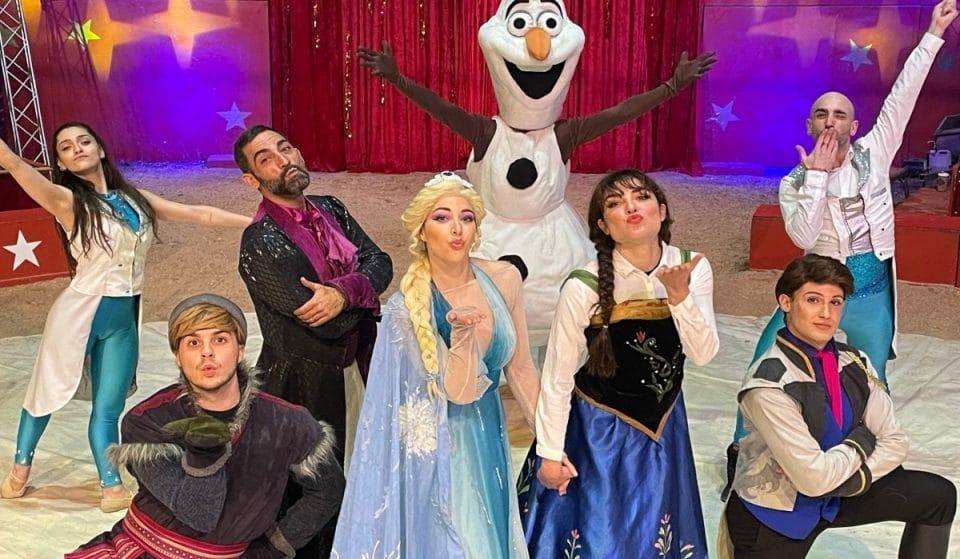 Frozen, el mágico musical con espectáculo circense