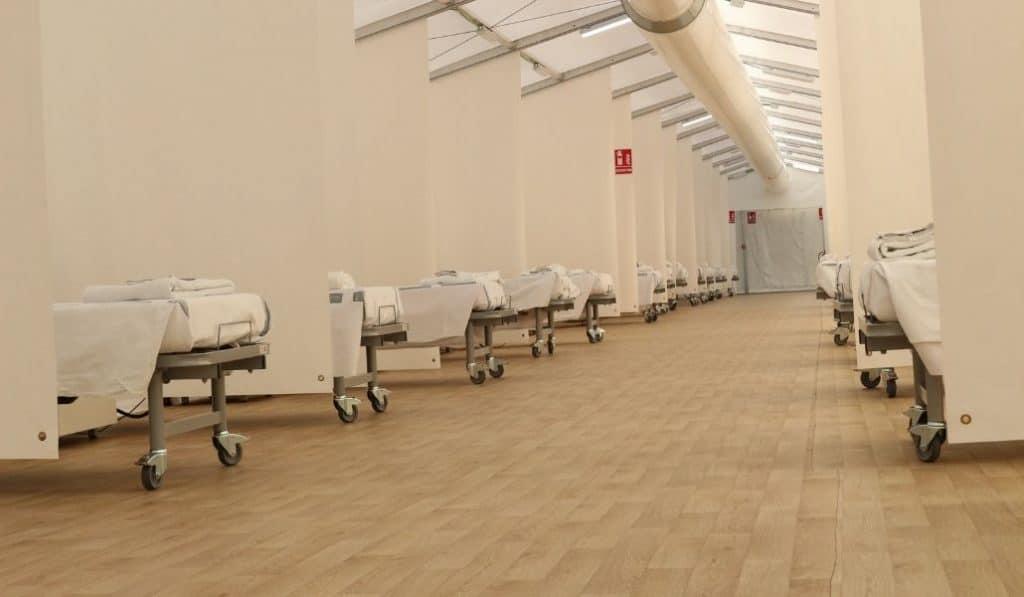 La Fe de Valencia ya prepara un hospital de campaña ante el aumento de casos de coronavirus
