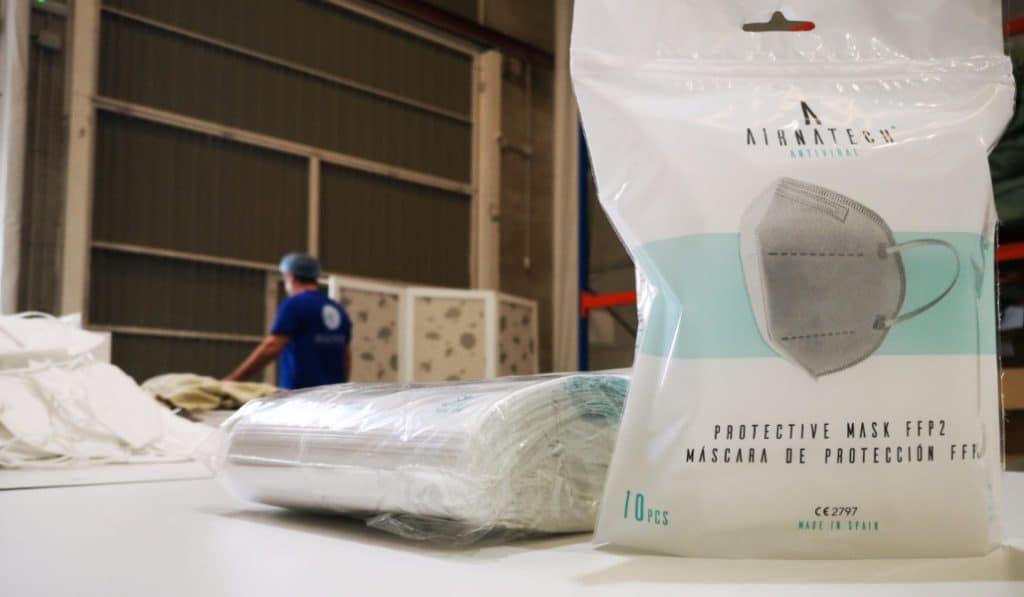 El mayor fabricante de mascarillas FFP2 es valenciano