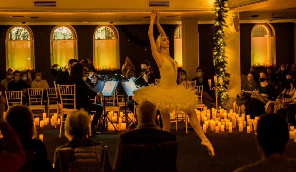 'El Cascanueces' y ballet a la luz de las velas en Valencia