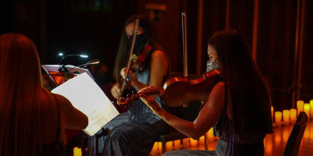 Valencia se llena de velas para celebrar conciertos de Vivaldi