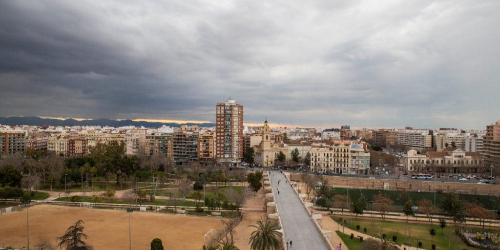 Alerta por tormentas, lluvia y granizo hoy en Valencia