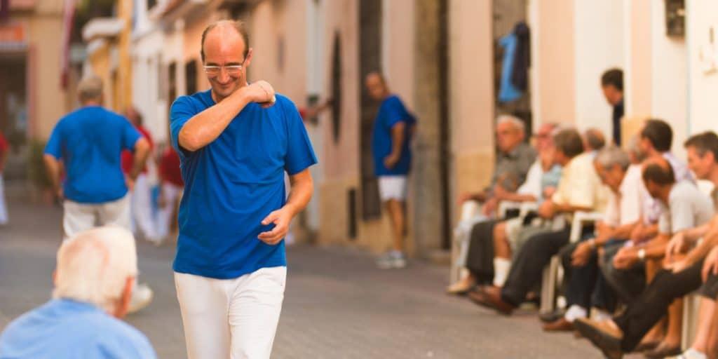 València quiere peatonalizar la calle Pelayo para jugar a la pilota
