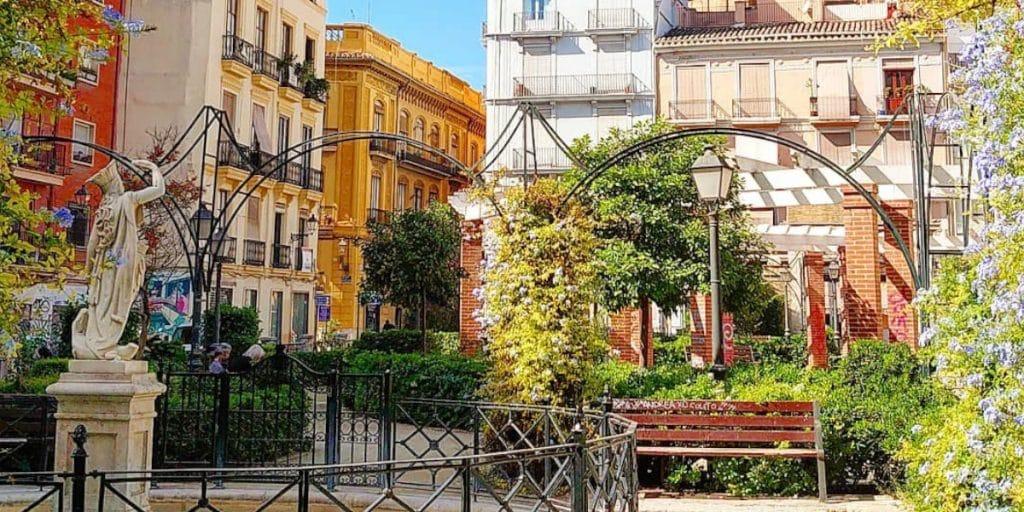 Los jardines de Parcent: un tesoro escondido en el centro de Valencia