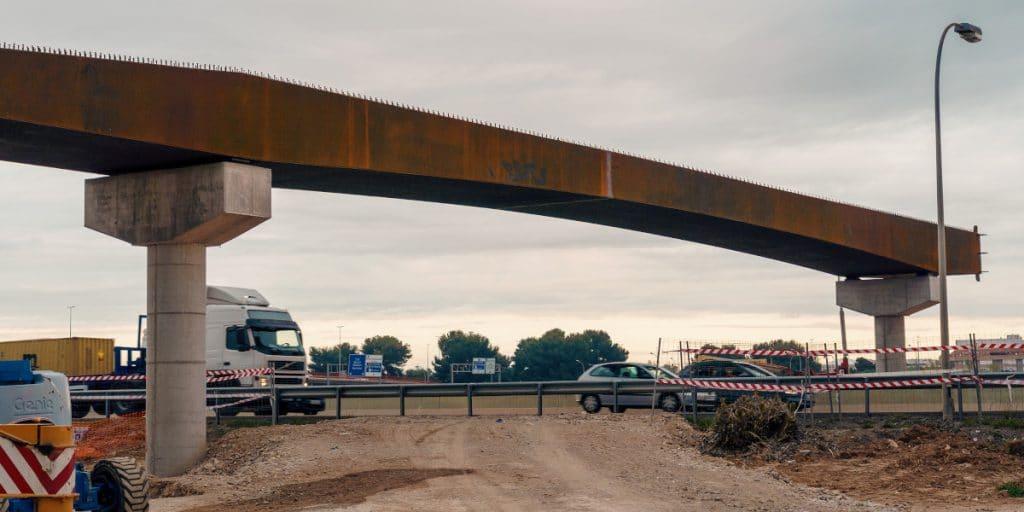 Una pasarela con carril bici unirá Valencia con l'Horta Sud