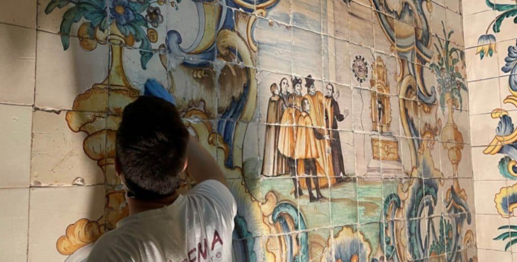 La renovación de la Casa Natalicia de Sant Vicent, a punto