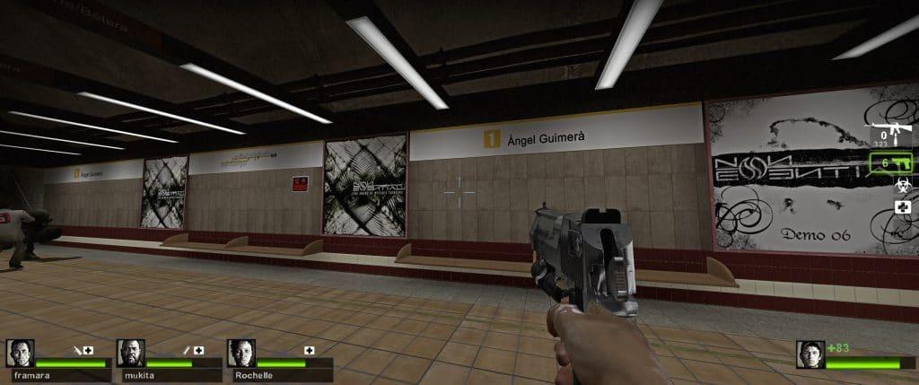 Así luce Valencia en un videojuego de zombis