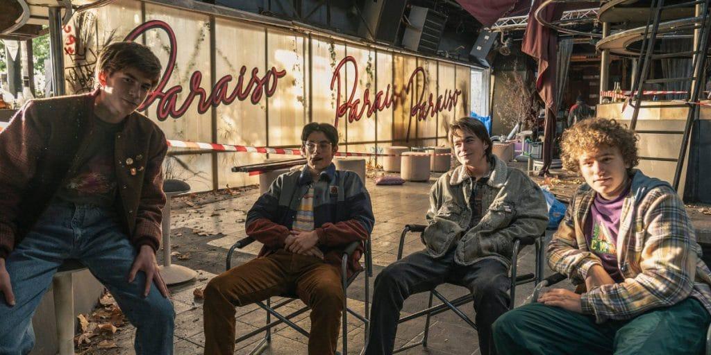 Así es «Paraíso», la nueva serie de Movistar+ que se ha rodado en Valencia