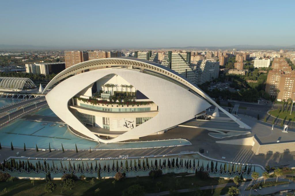 Les Arts: el espacio referente de la cultura y el entretenimiento en Valencia