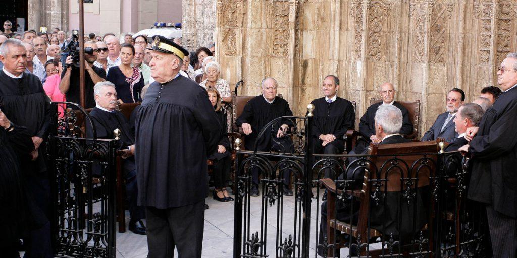 El Tribunal de las Aguas vuelve a celebrarse con público después de 14 meses