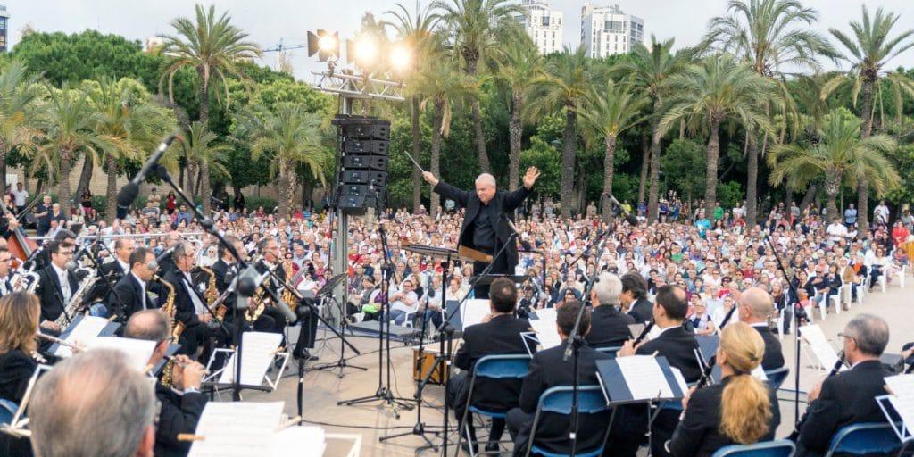 Regresan los conciertos gratuitos a los Jardines del Palau de la Música