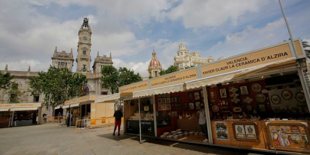 Valencia tendrá una Feria de Artesanía de Navidad en la Plaza del Ayuntamiento
