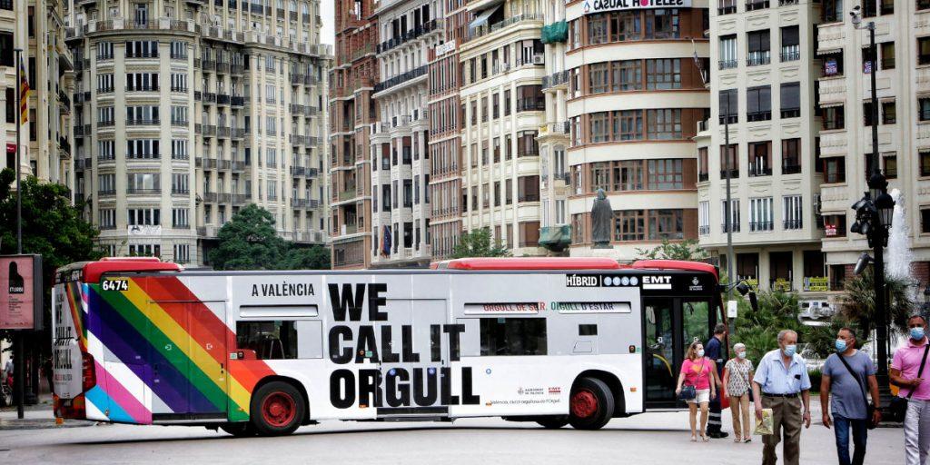 A València we call it Orgull: un lema viral para celebrar el Orgullo 2021