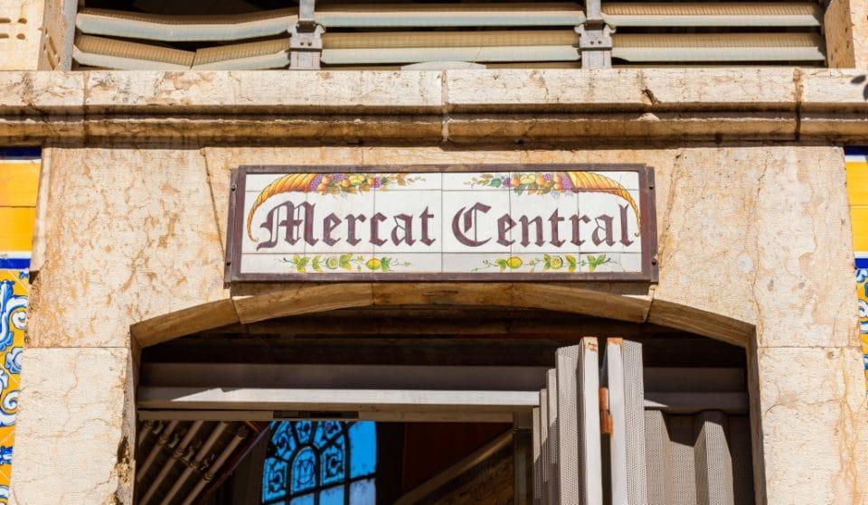 ¿Sabías que el Mercat Central tiene una estación de metro fantasma?