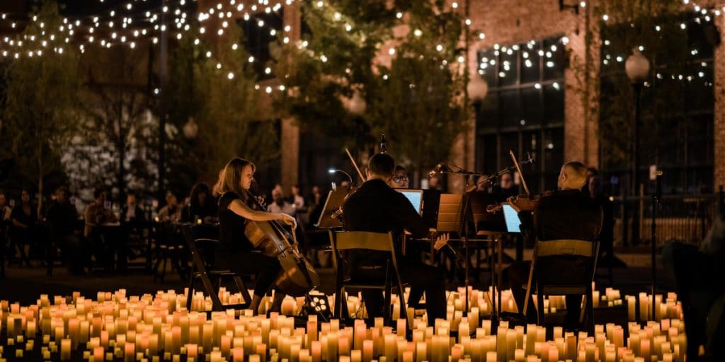 Concierto de bandas sonoras mágicas al aire libre en la terraza de la PlaZeta