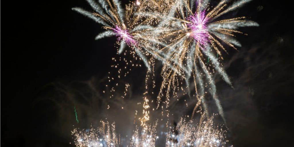 Los fuegos artificiales de la Feria de Julio, suspendidos por la nueva ola
