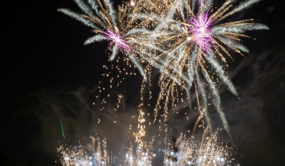 Llegan los espectáculos pirotécnicos de la Gran Fira de València