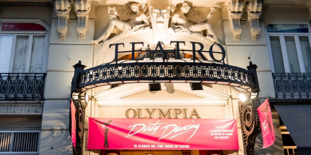 El teatro Olympia, protegido como Bien de Relevancia Local