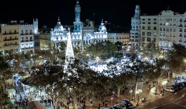 Así será la iluminación de la Navidad 2021 en Valencia