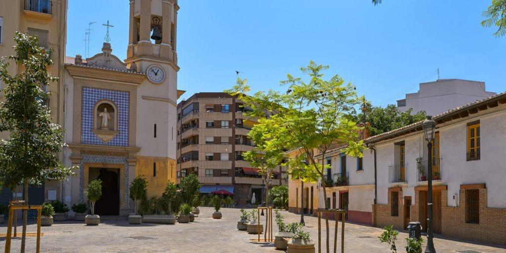 Valencia tendrá 13 nuevas plazas peatonales