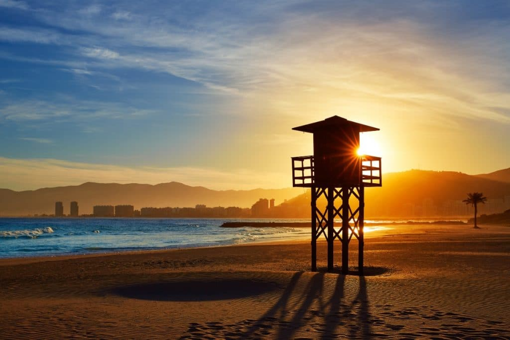 Cullera cierras sus playas por la noche