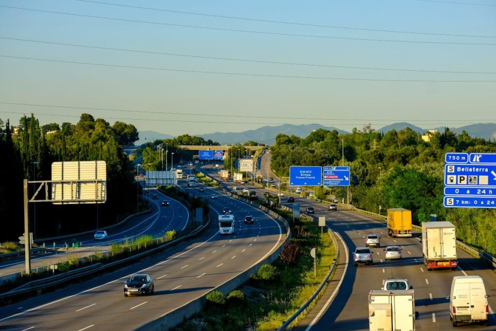 Ya se puede viajar gratuitamente por autopista hasta Francia