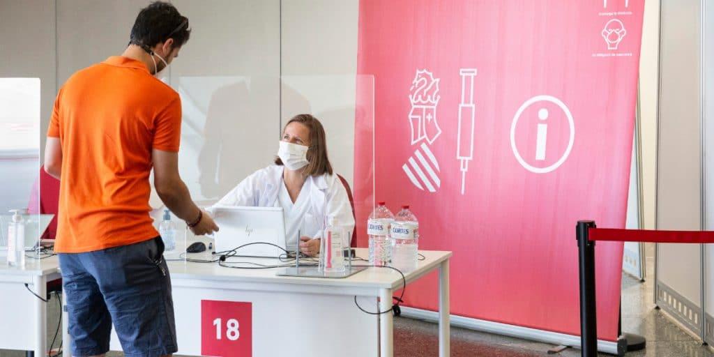 La Comunitat Valenciana vacuna sin cita previa desde este martes