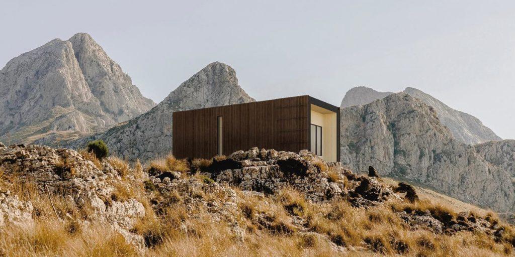 Así es la casa valenciana prefabricada que se monta en un día