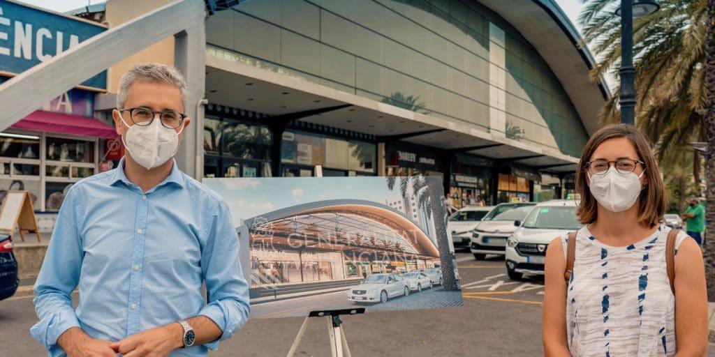 La nueva Estación de Autobuses de Valencia estará lista en 2022