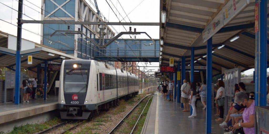 Restablecido el servicio de metro entre Empalme y Burjassot