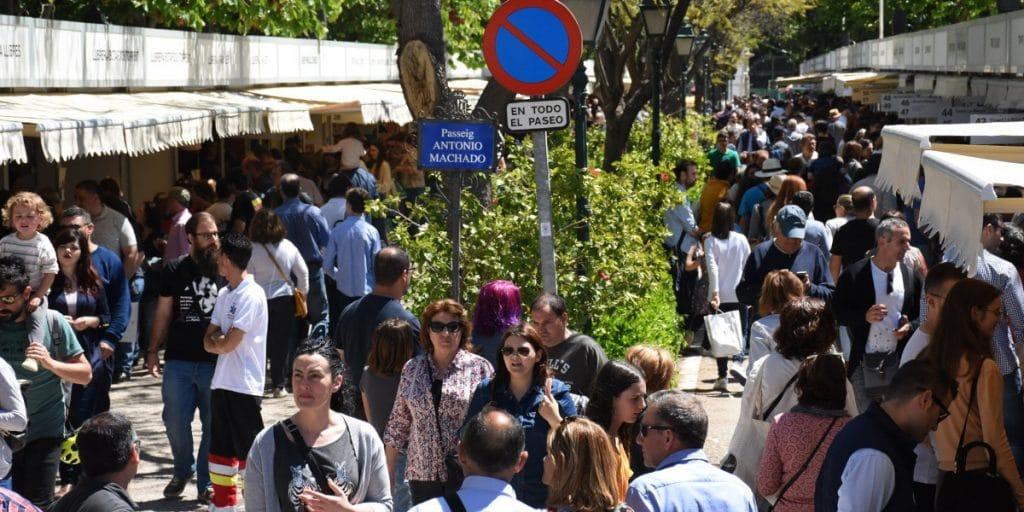 La Feria del Libro de Valencia regresa a los Jardines de Viveros el próximo 14 de octubre