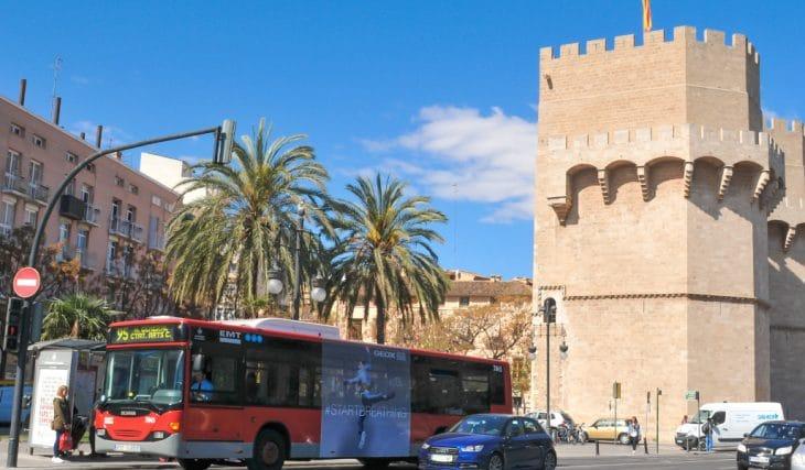 Metro y autobús, gratis este miércoles en Valencia