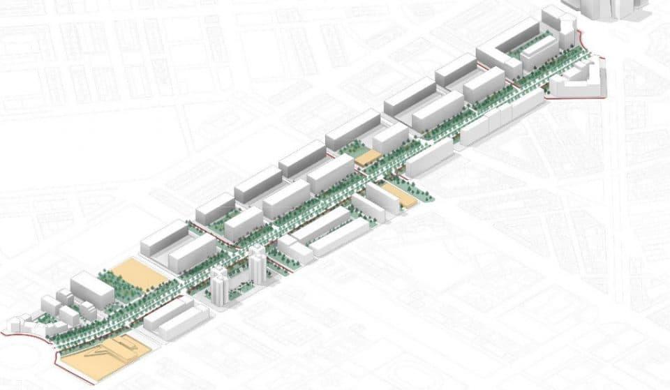 Así será la nueva avenida Ausiàs March: más verde y con más espacio para peatones