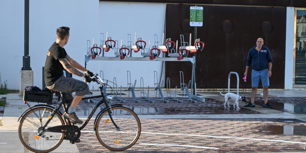 Así son los nuevos aparcamientos para bicicletas de Valencia