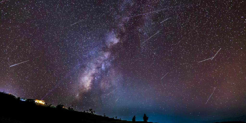 Dracónidas en Valencia: llega la lluvia de meteoros más caótica del año