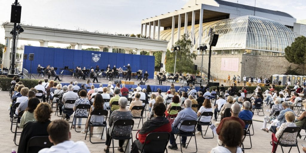 El Palau de la Música celebra 8 conciertos gratuitos esta semana