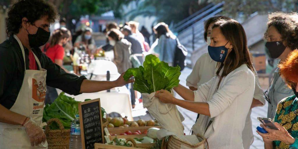 Valencia tiene un nuevo mercado agroecológico al aire libre