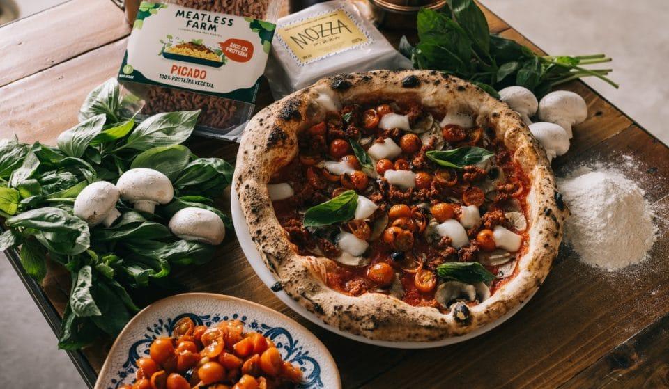 Grosso Napoletano lanza su primera pizza vegana